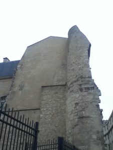 The old wall.